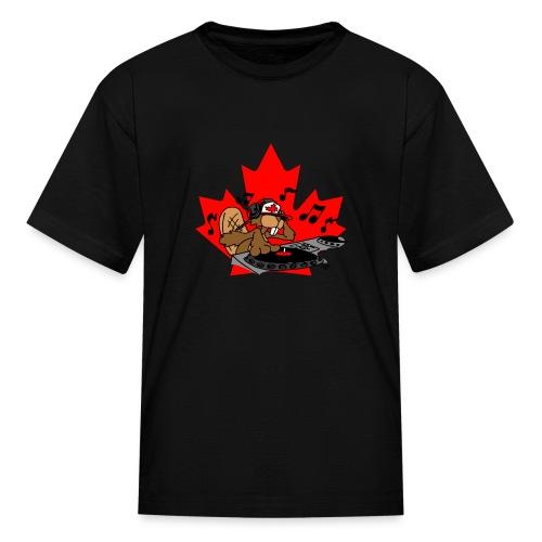 Beaver DJ - Kids' T-Shirt