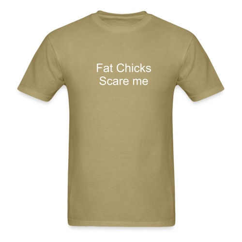 Fat chicks - Men's T-Shirt