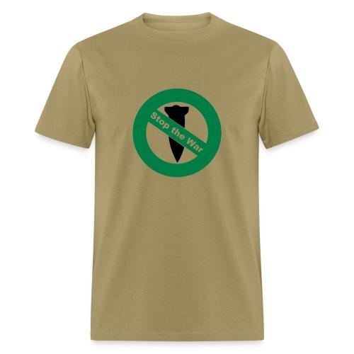 Anti War - Stop Bombing Mens T-Shirt - Men's T-Shirt