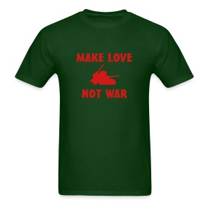 Anti War - Make love not war - Men's T-Shirt
