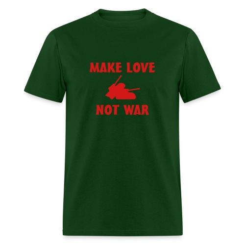 Anti War - Make love not war - Men's T-Shirt