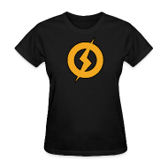Women's T-Shirts ~ Women's T-Shirt ~ Lightning Man Women's Tee