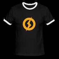 T-Shirts ~ Men's Ringer T-Shirt ~ Lightning Man Ringer Tee