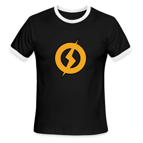 Lightning Man Ringer Tee - Men's Ringer T-Shirt