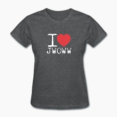 I Love Jwoww Women's T-Shirts