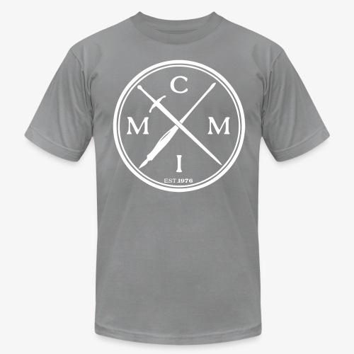 Pen X Sword SLATE GRY - Men's Fine Jersey T-Shirt