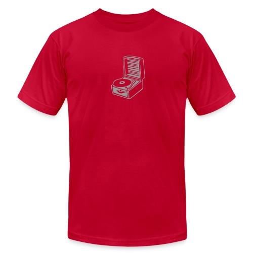 record player - Men's Fine Jersey T-Shirt