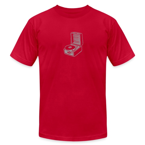 record player - Men's Fine Jersey T-Shirt