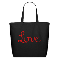 Bags & backpacks ~ Eco-Friendly Cotton Tote ~ love