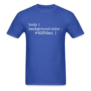 css_men_blue_shirt - Men's T-Shirt