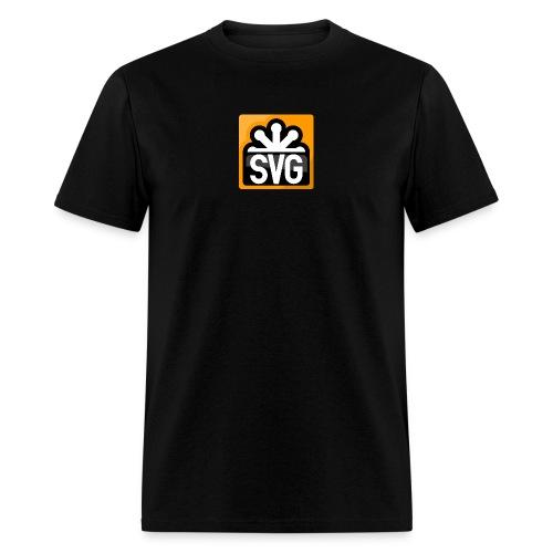 svg_men_black_shirt - Men's T-Shirt