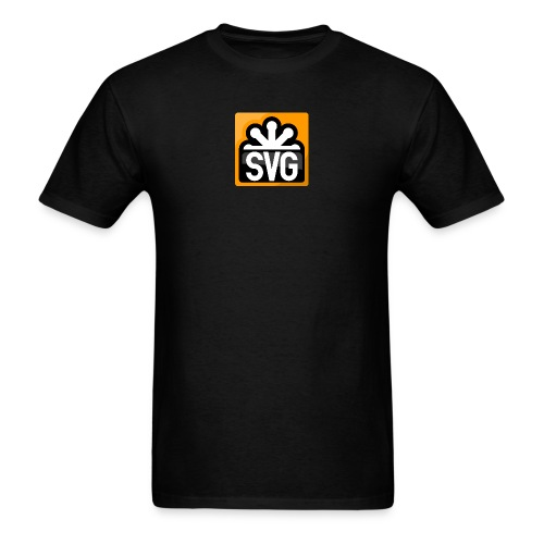 svg_men_black_shirt - Men's T-Shirt