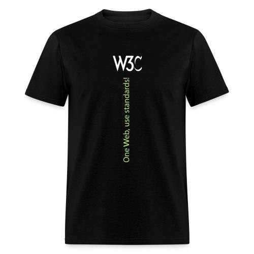 oneweb_men_black_shirt - Men's T-Shirt