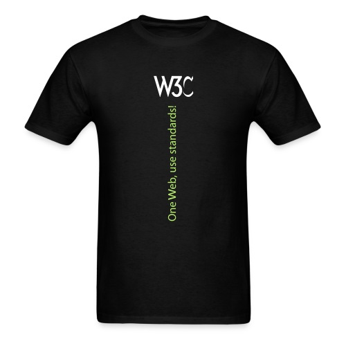 oneweb_men_black_shirt - Men's T-Shirt