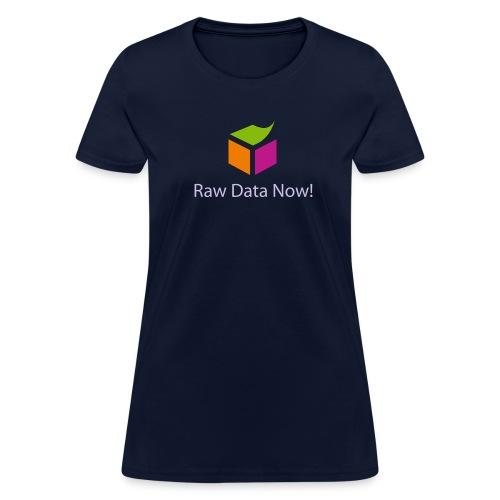 sementicweb_women_blue_shirt - Women's T-Shirt