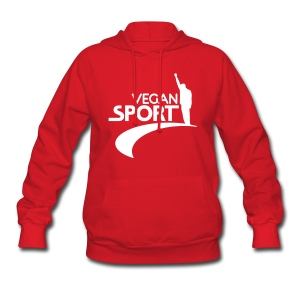 Women's Hooded Sweatshirt- VEGAN SPORT! - Women's Hoodie