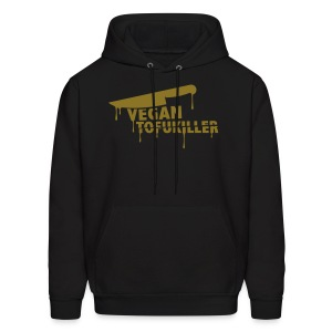 men's hooded sweatshirt - VEGAN TOFUKILLER! - Men's Hoodie
