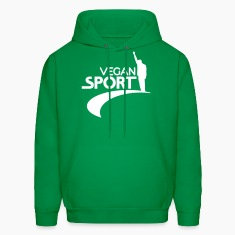 Green us_vegansport01 Hoodies