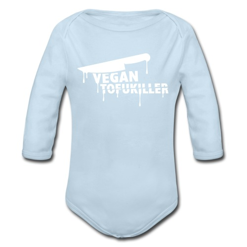 Baby Long Sleeve - VEGAN TOFUKILLER! - Organic Long Sleeve Baby Bodysuit