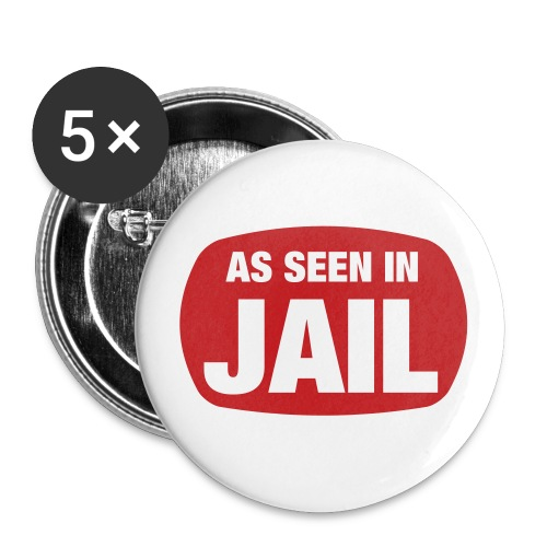 Jail Button - Large Buttons