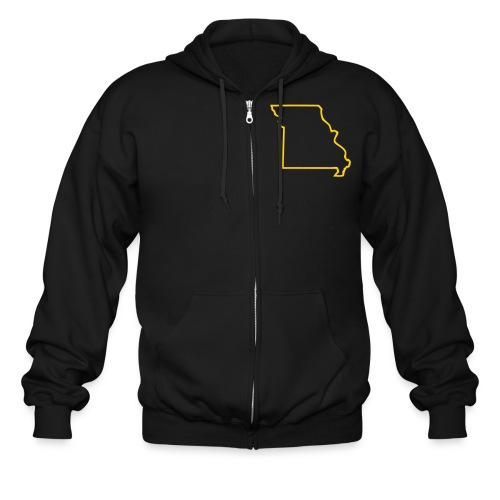 Hooded State Shirt - Men's Zip Hoodie