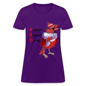 R.E.D. Cardinal - Women's T-Shirt
