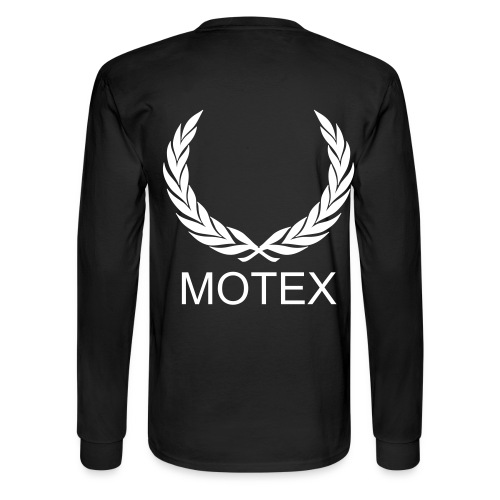 MOTEX long sleeve black shirt - Men's Long Sleeve T-Shirt