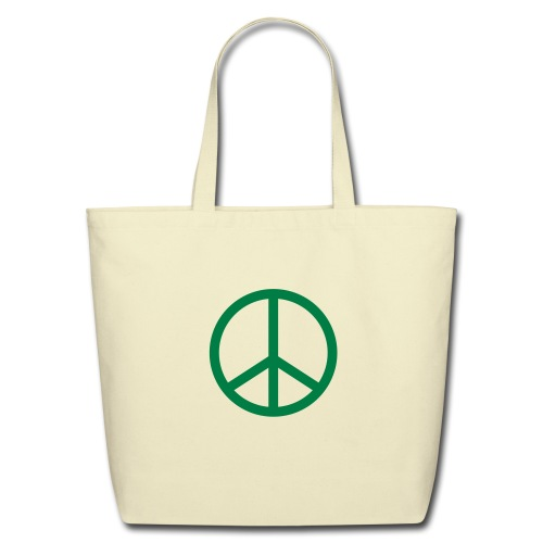 green tote bag - Eco-Friendly Cotton Tote