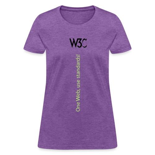 oneweb_woman_gray_shirt - Women's T-Shirt