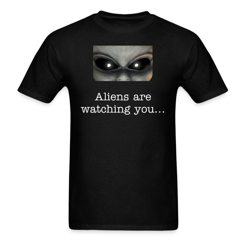 Aliens Watching Style 1 - Men's T-Shirt