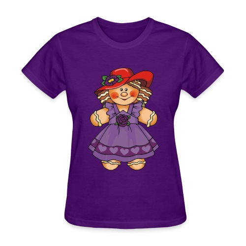Gingerbread Lady 2 - Women's T-Shirt
