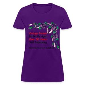 Vintage Person - Women's T-Shirt