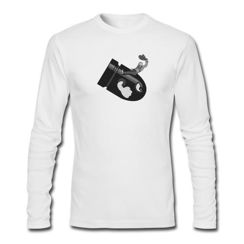 Bullet Bill  - Men's Long Sleeve T-Shirt by Next Level