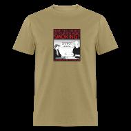 T-Shirts ~ Men's T-Shirt ~ Smoking