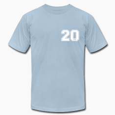 Light blue 20 centimeter T-Shirts