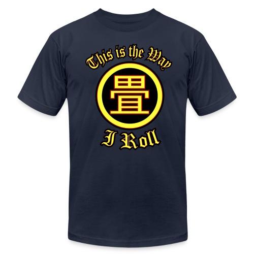 The Way I Roll (Tatami) Mens Tee - Men's Fine Jersey T-Shirt