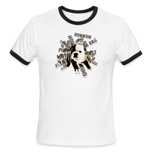 Dog T-Shirt - Men's Ringer T-Shirt