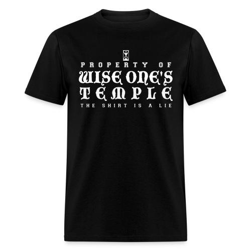 Wise One's Temple Men's Tee (dark) - Men's T-Shirt