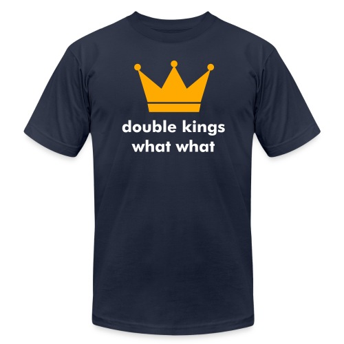 double kings WHAT WHAT tshirt - Men's Fine Jersey T-Shirt