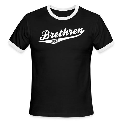 Brethren 357 Team - Men's Ringer T-Shirt
