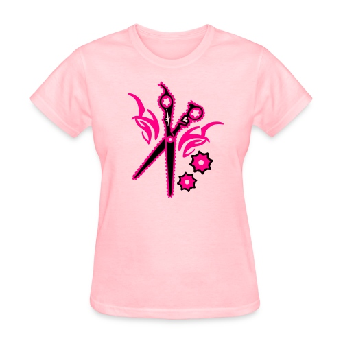 Shear Gear hot pink/black - Women's T-Shirt