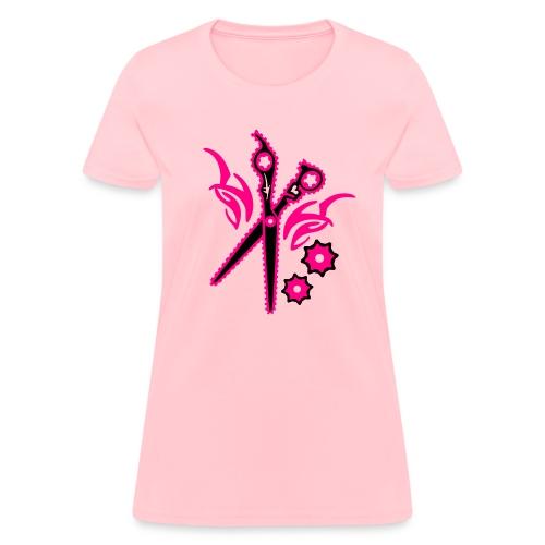Shear Gear hot pink/black - Women's T-Shirt