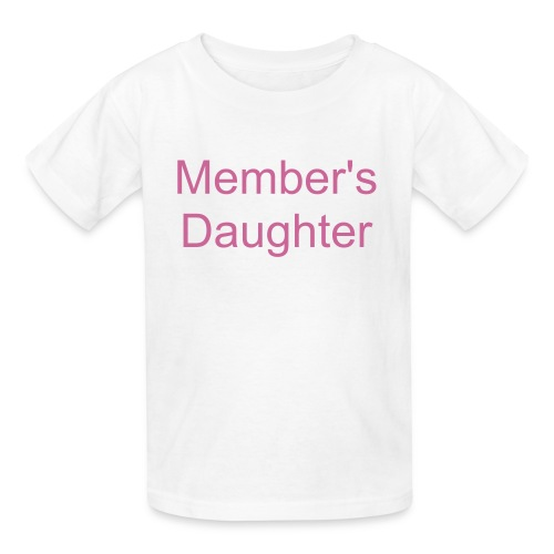 Kids members daughter - Kids' T-Shirt