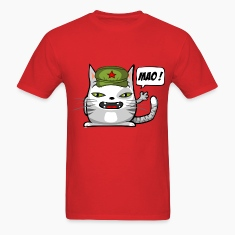 Communist cat T-shirts