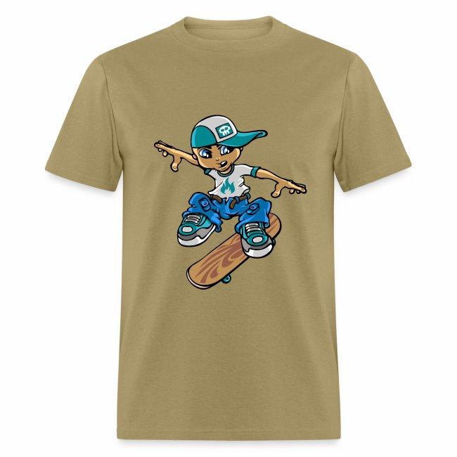 48b8cdf7f7 Skater boy and flip | Men's T-Shirt