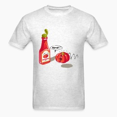 Ketchup tragedy T-shirts