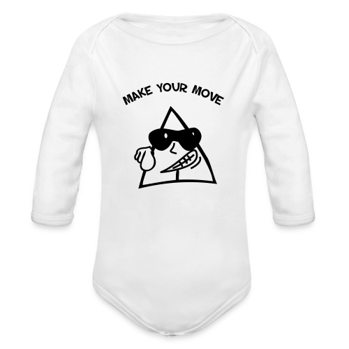 Sneables baby's one piece - Organic Long Sleeve Baby Bodysuit