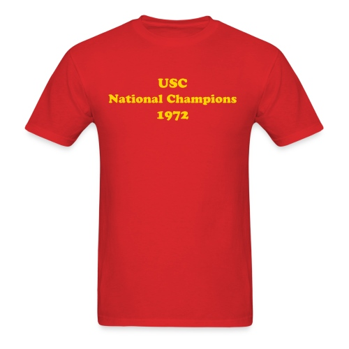 1972 National Champions - Men's - Men's T-Shirt