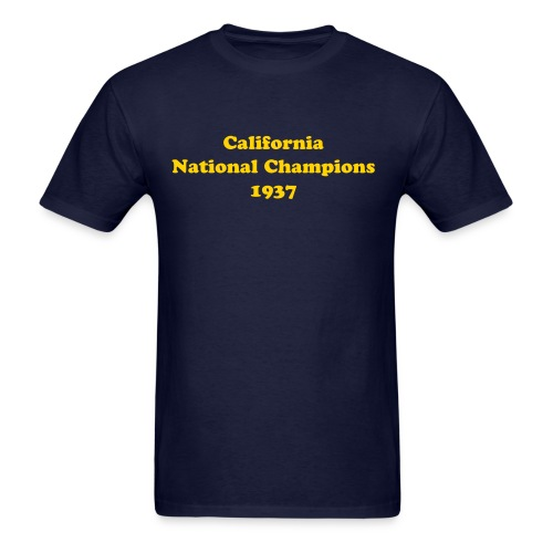 National Champions 1937 - Men's - Men's T-Shirt