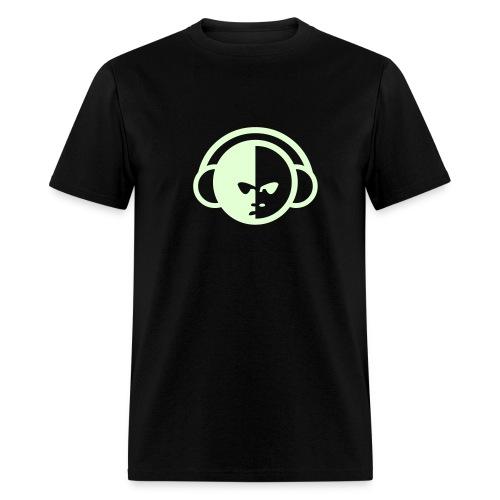 DJ glow in the Dark - Men's T-Shirt